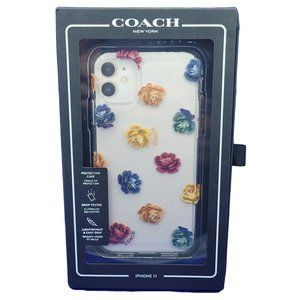 Coach Case for iPhone 11 - Dreamy Peony Flowers